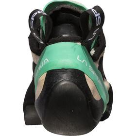 La Sportiva Miura Climbing Shoes Dam white/jade green